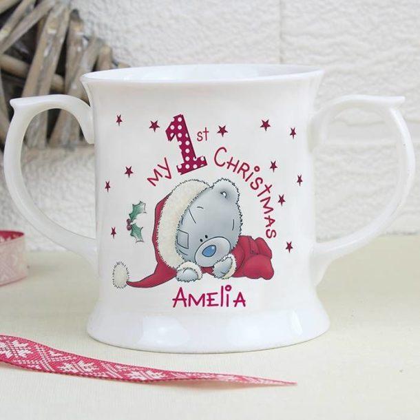Personalised Me To You My 1st Christmas Loving Mug