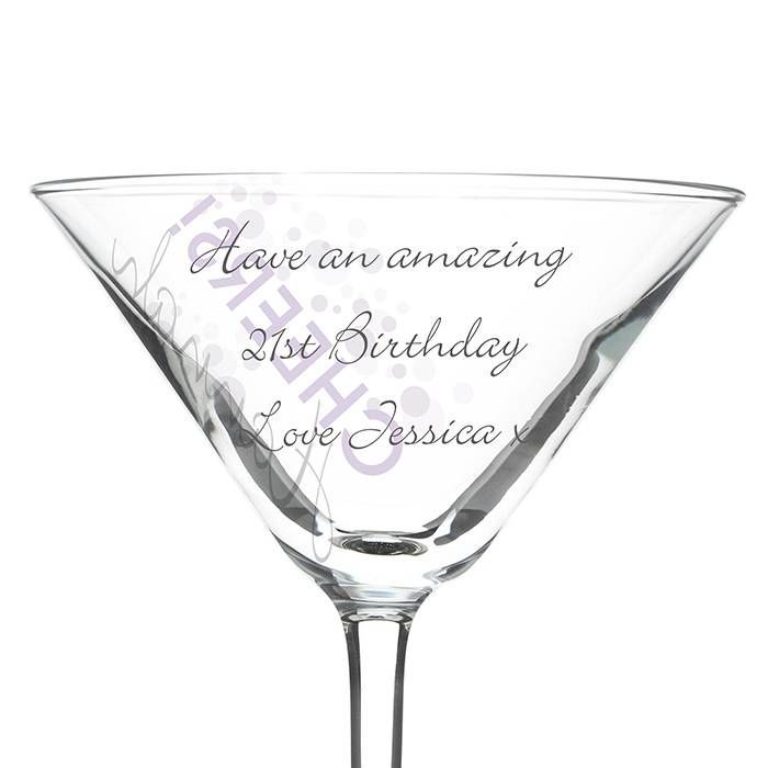 Personalised Cheers Cocktail Glass Amazing Pictures