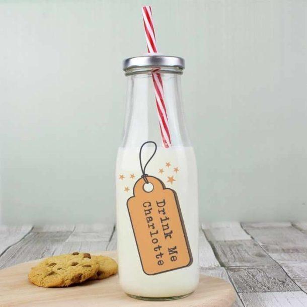 Personalised Milk Bottle