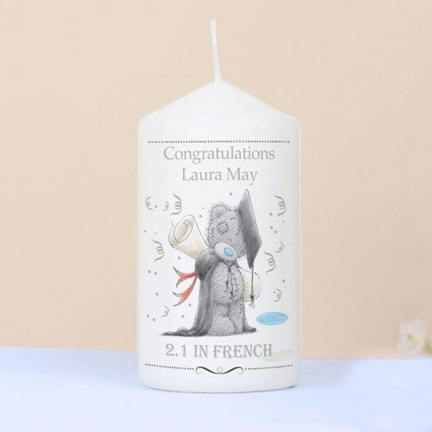 Personalised Me to You Graduation Candle - FREE DELIVERY!