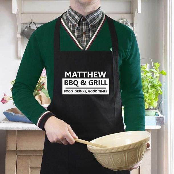 Personalised BBQ Apron