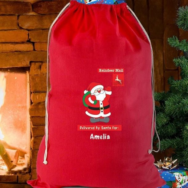 Personalised Father Christmas Sack