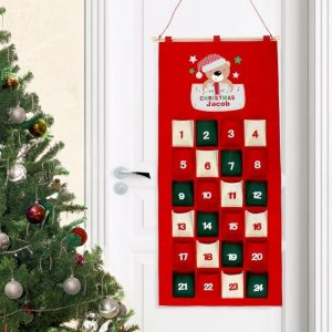 Personalised My 1st Christmas Advent Calendar