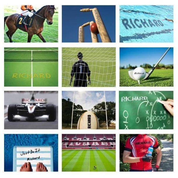 Personalised Sports Calendar