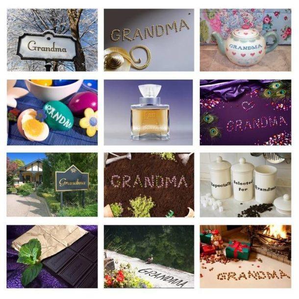 Personalised Grandma Calendar