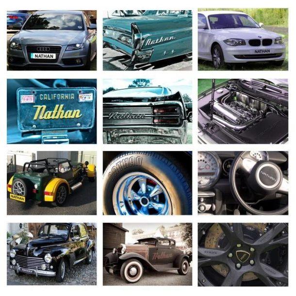 Personalised Car Geeks Calendar