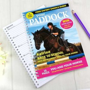 Personalised Your Paddock A5 Diary