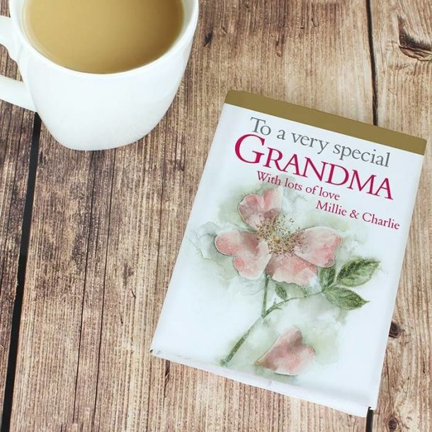 Personalised Very Special Grandma Gift Book