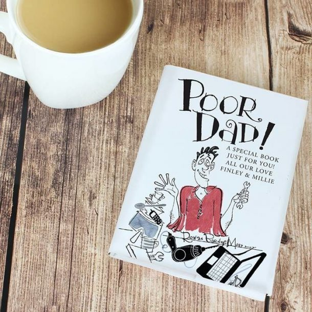 Personalised Poor Dad Gift Book