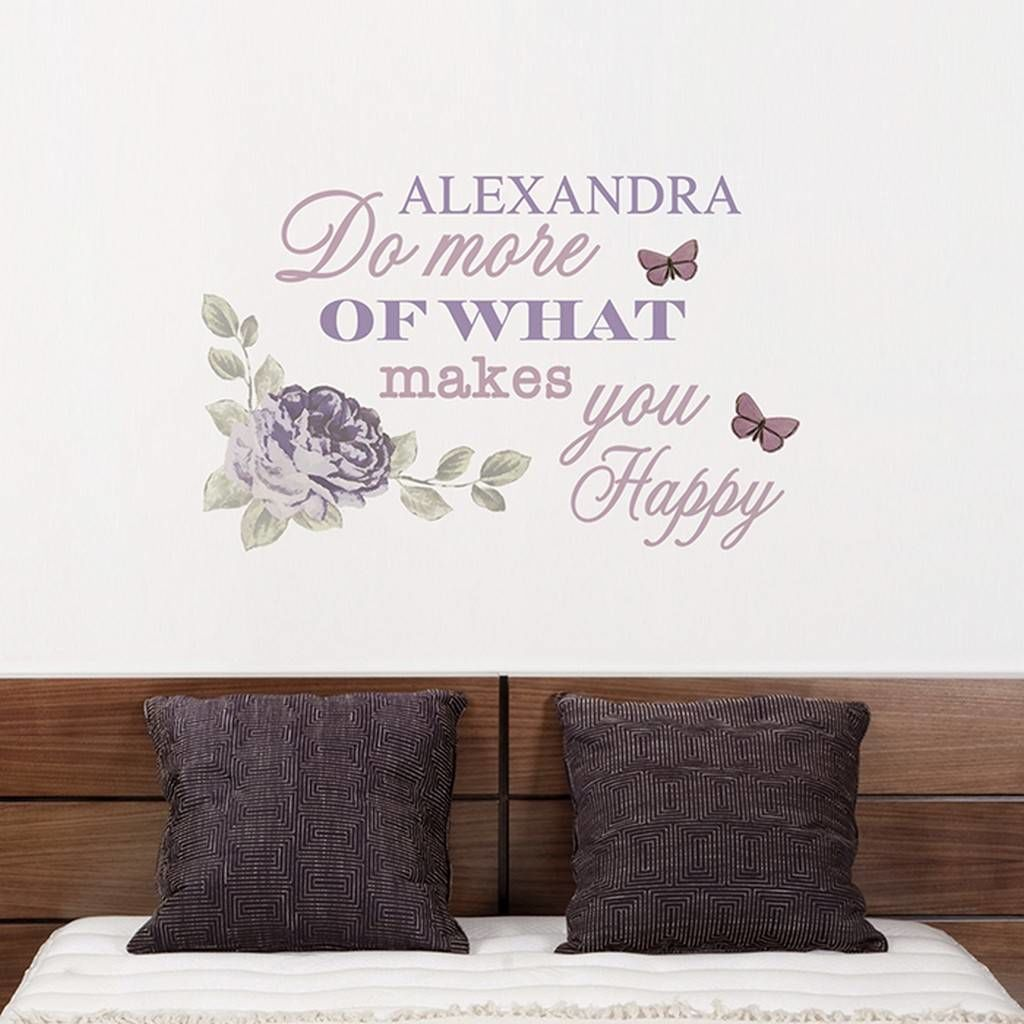 Secret Garden: Personalised Secret Garden Wall Art