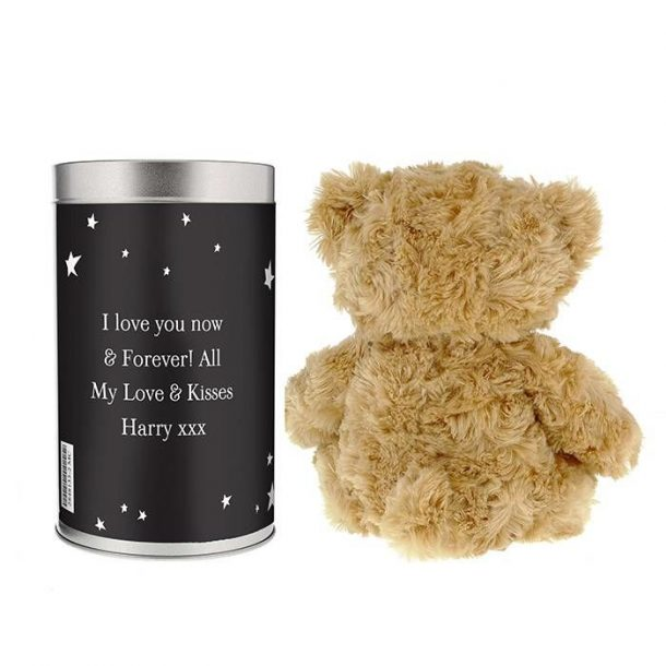 Personalised To The Moon Teddy