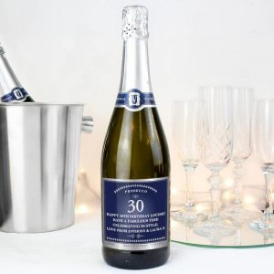 Personalised Big Age Bottle of Prosecco