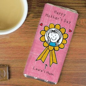 Personalised Purple Ronnie Mother's Day Chocolate