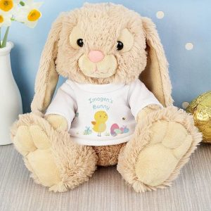 Personalised Easter Bunny in a T-Shirt