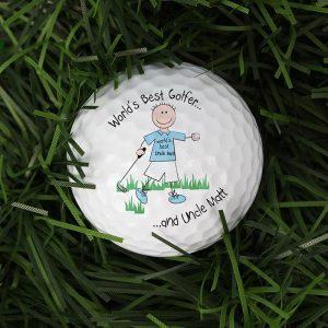 Personalised Worlds Best Golfer Ball