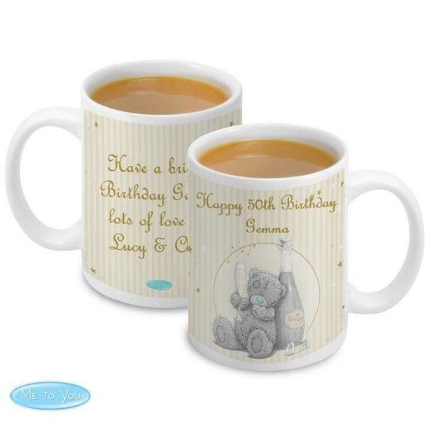 Personalised Me To You Gold Stars Mug