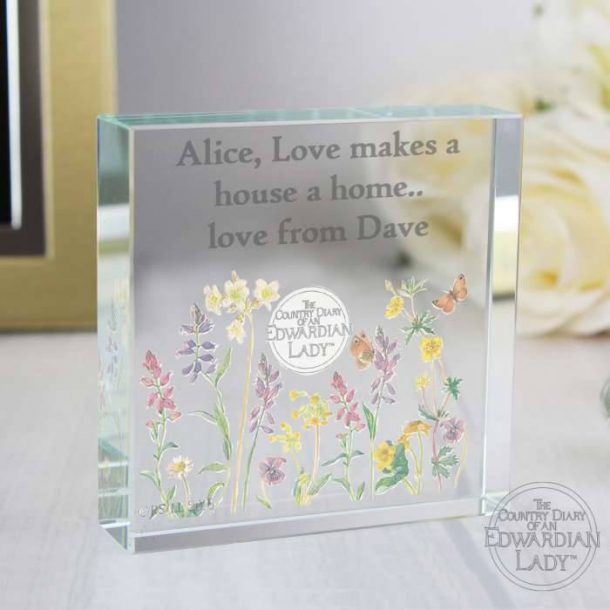 Personalised Wild Flowers Token