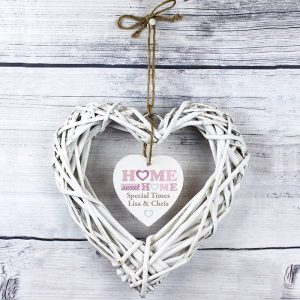 Personalised Home Sweet Home Heart