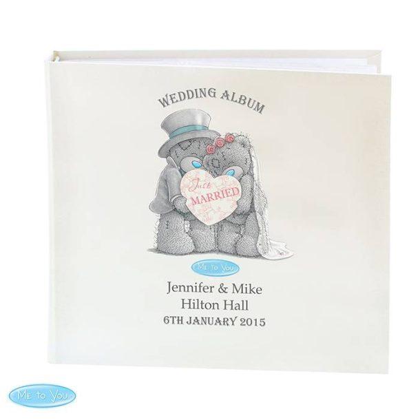 Personalised Me To You Wedding Album