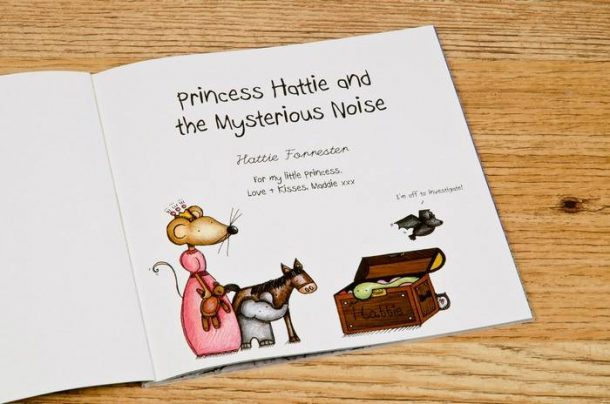 Personalised Princess & The Mysterious Noise