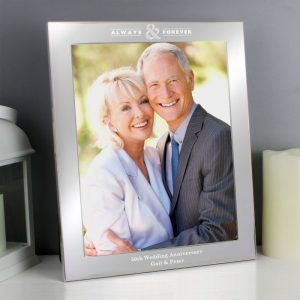 Personalised Always & Forever Photo Frame
