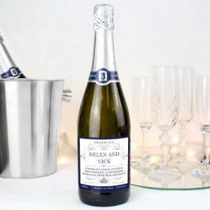 Personalised Any Message Bottle of Prosecco