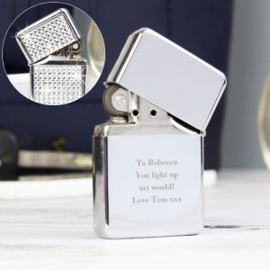 Personalised Any Message Diamante Lighter