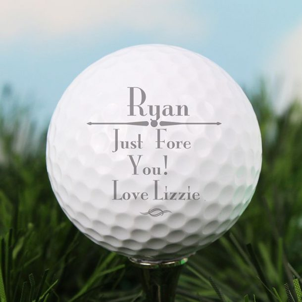 Personalised Any Message Golf Ball