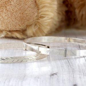 Personalised Baby Girls Expanding Bracelet