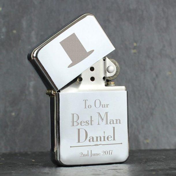 Personalised Best Man Lighter