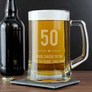 Personalised Birthday Age Pint Tankard