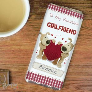 Personalised Boofle Chocolate Bar
