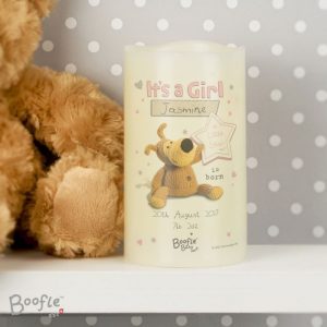 Personalised Boofle Nightlight LED Candle