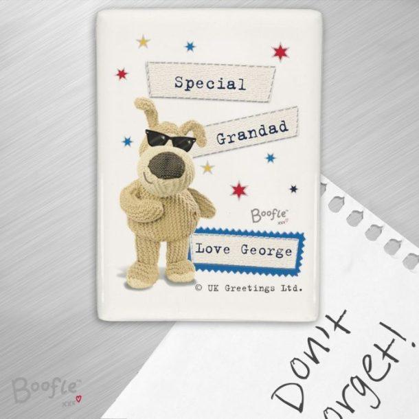 Personalised Boofle Stars Fridge Magnet