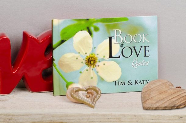 Personalised Book Of Love Quotes