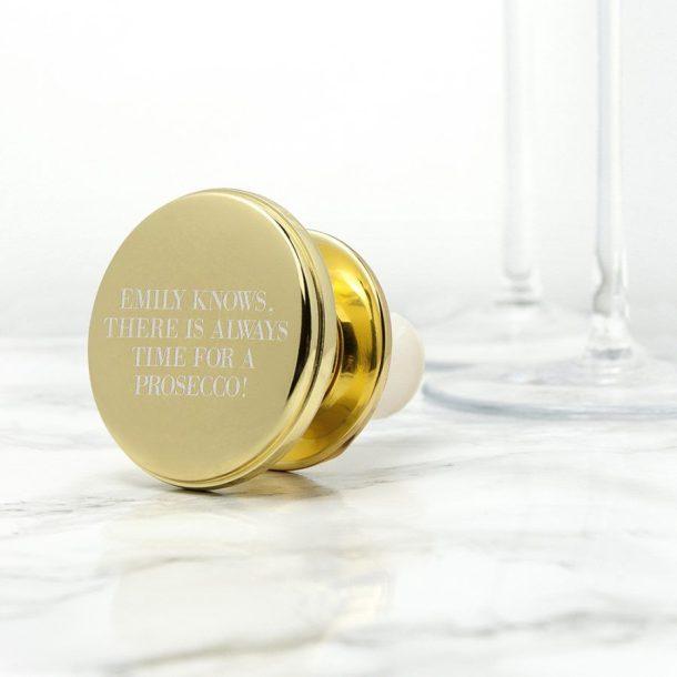 Personalised Bottle Stopper