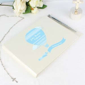 Personalised Boys Guest Book