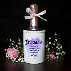 Personalised Bridesmaid Champagne Bucket