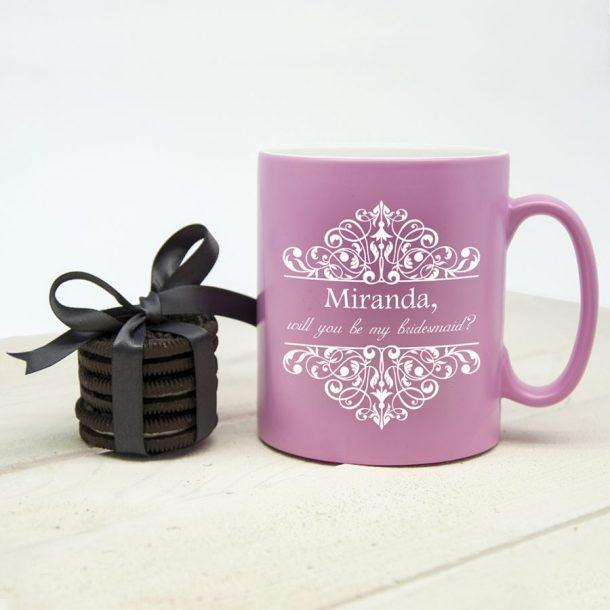 Personalised Bridesmaid Proposal Mug