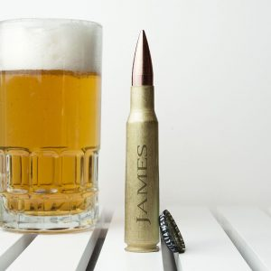Personalised Bullet Shell Bottle Opener