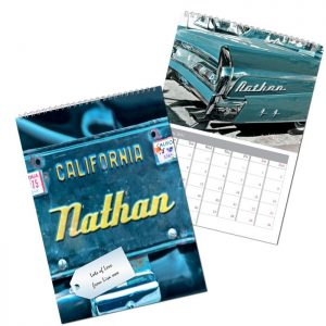 Personalised Car Geeks Calendar