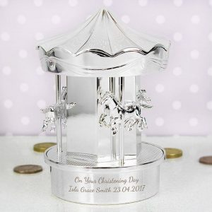 Personalised Carousel Moneybox