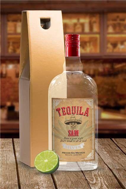 Personalised Celebration Tequila