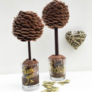 Personalised Chocolate Buttons Sweet Tree