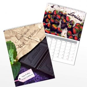 Personalised Chocolate Calendar