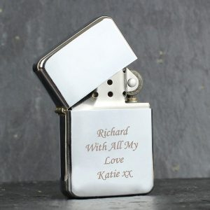 Personalised Chrome Lighter