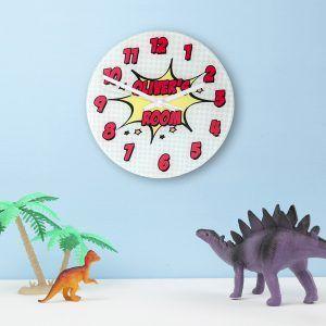 Personalised Comic Wall Clock