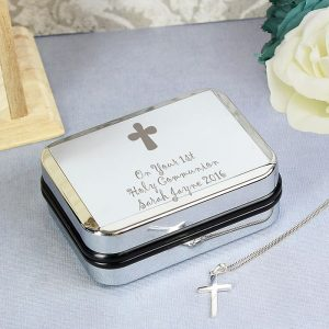 Personalised Cross Necklace & Gift Box