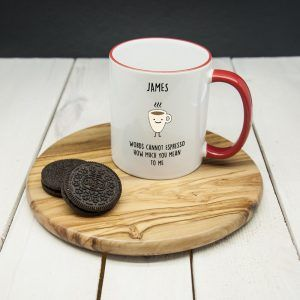 Personalised Espresso Mug
