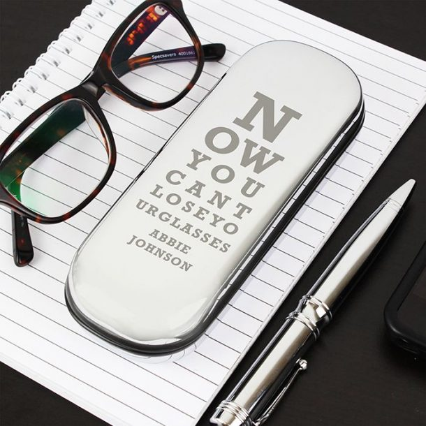 Personalised Eye Exam Glasses Case